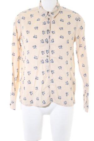 Pepe Jeans Hemdblouse room-donkerblauw volledige print casual uitstraling
