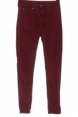 Pepe Jeans High Waist Jeans rot Casual-Look