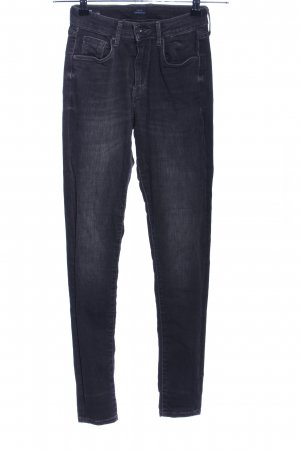 Pepe Jeans Hoge taille jeans zwart casual uitstraling
