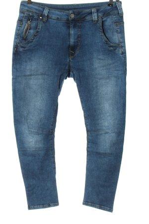 Pepe Jeans Dopasowane jeansy niebieski W stylu casual