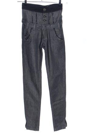 Pepe Jeans High Waist Jeans hellgrau meliert Casual-Look