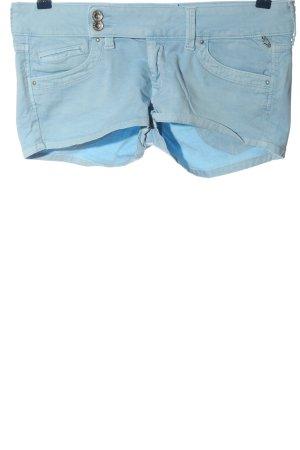 Pepe Jeans Hot Pants blau Casual-Look