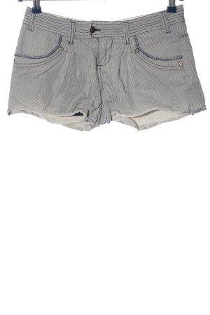 Pepe Jeans Hot Pants schwarz-wollweiß meliert Casual-Look