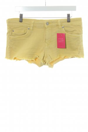 Pepe Jeans Hot Pants gelb Casual-Look