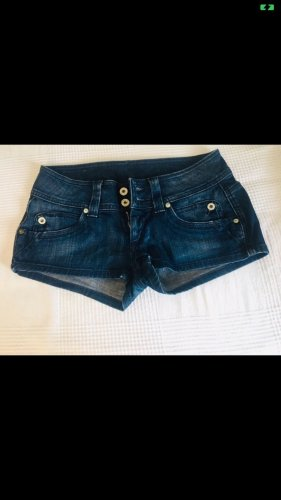Pepe Jeans Hot pants blu scuro