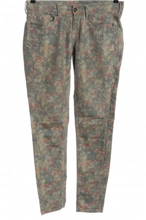Pepe Jeans Low-Rise Trousers allover print casual look