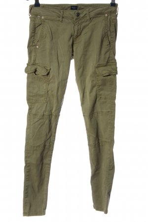 Pepe Jeans Low-Rise Trousers khaki casual look