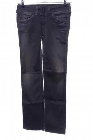 Pepe Jeans Low-Rise Trousers black casual look