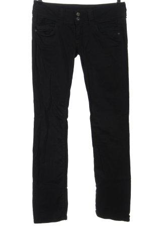 Pepe Jeans Pantalone a vita bassa nero stile casual