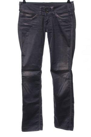 Pepe Jeans pantalón de cintura baja negro look casual