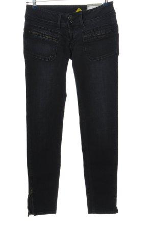 Pepe Jeans Jeans vita bassa nero stile casual