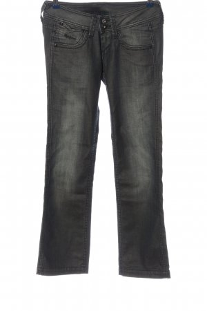 Pepe Jeans Jeans vita bassa grigio chiaro stile casual