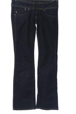 Pepe Jeans Jeans vita bassa blu stile casual