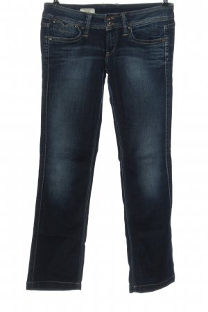 Pepe Jeans Low Rise jeans blauw casual uitstraling