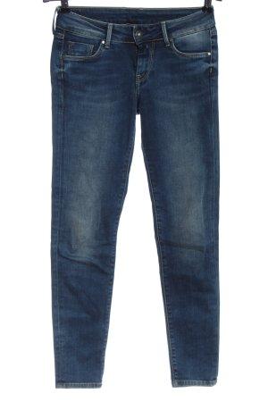 Pepe Jeans Jeans taille basse bleu style décontracté