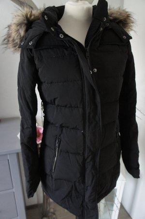PEPE JEANS Jacke Mantel Größe XS 34 schwarz Winterjacke
