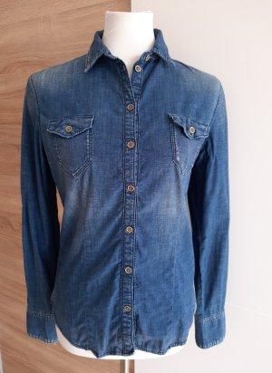Pepe Jeans Jeansowa koszula Wielokolorowy Bawełna