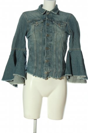 Pepe Jeans Jeansowa kurtka niebieski W stylu casual