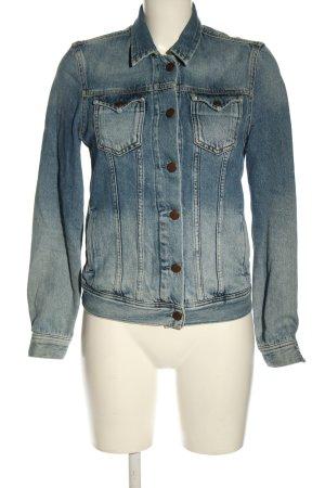 Pepe Jeans Jeansjacke blau Farbverlauf Casual-Look