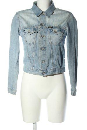 Pepe Jeans Veste en jean bleu style décontracté