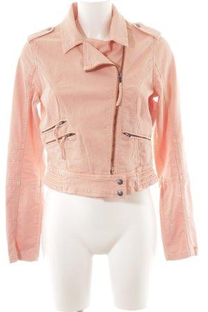 Pepe Jeans Jeansjacke rosa Metallknöpfe