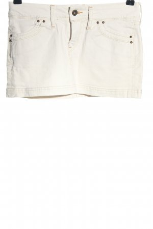 Pepe Jeans Jeansrock weiß Casual-Look