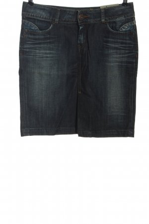 Pepe Jeans Jupe en jeans bleu style décontracté