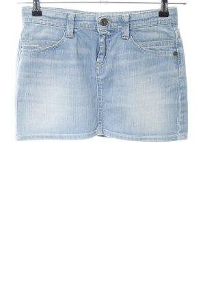 Pepe Jeans Jeansrock blau Casual-Look