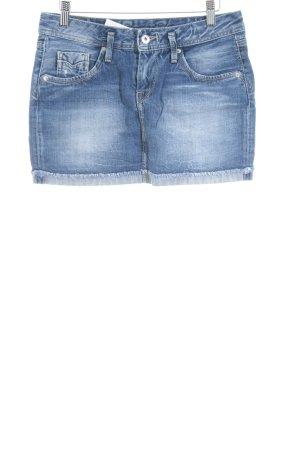 Pepe Jeans Jeansrock kornblumenblau klassischer Stil