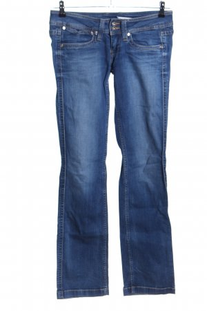Pepe Jeans Spijker flares blauw casual uitstraling