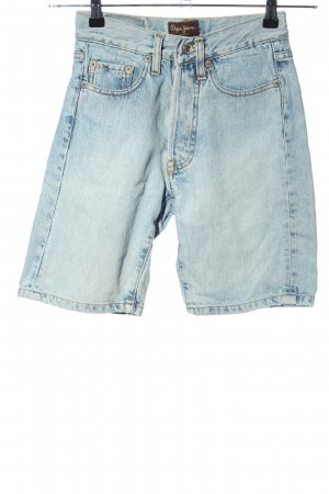 Pepe Jeans Jeansshorts blau Casual-Look