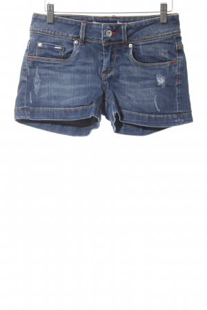 Pepe Jeans Jeansshorts dunkelblau Casual-Look