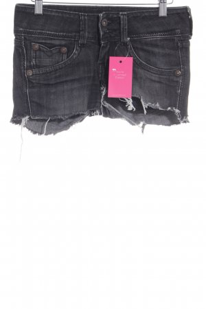 Pepe Jeans Jeansshorts dunkelgrau Casual-Look