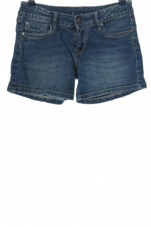 Pepe Jeans Jeansshorts blau Street-Fashion-Look