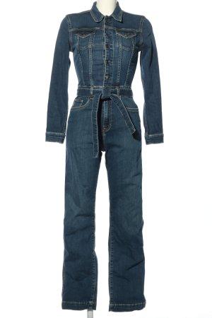 Pepe Jeans Jumpsuit blau Casual-Look