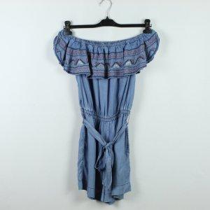 Pepe Jeans Jumpsuit Gr. L blau bestickt (19/12/215*)
