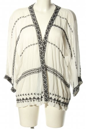 Pepe Jeans Kimono white-black mixed pattern casual look