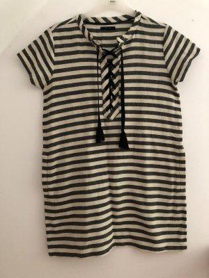 Pepe Jeans Sukienka z krótkim rękawem kremowy-antracyt