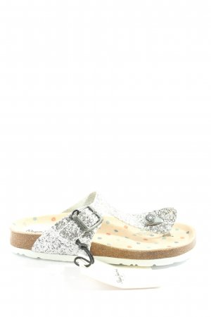Pepe Jeans Komfort-Sandalen silberfarben Elegant