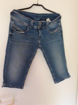 Pepe Jeans Jeans 3/4 bleu foncé
