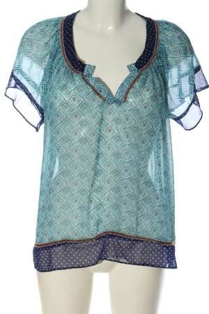 Pepe Jeans Kurzarm-Bluse Mustermix Casual-Look