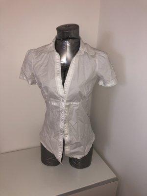 Pepe Jeans, Kurzarm Bluse, weiß, Gr. M