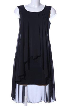 Pepe Jeans Jurk met korte mouwen zwart casual uitstraling