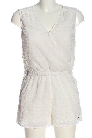 Pepe Jeans Kurzer Jumpsuit biały W stylu casual