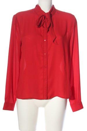 Pepe Jeans Camicetta a maniche lunghe rosso stile casual