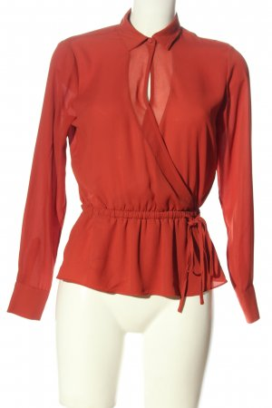 Pepe Jeans Langarm-Bluse rot Casual-Look