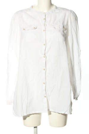 Pepe Jeans Langarm-Bluse wollweiß Casual-Look