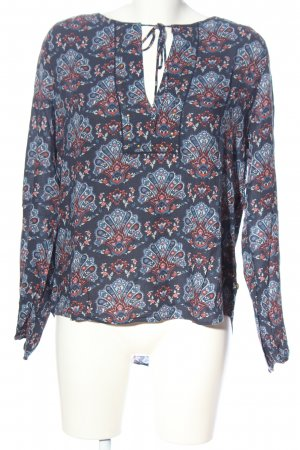 Pepe Jeans Langarm-Bluse Allover-Druck Casual-Look