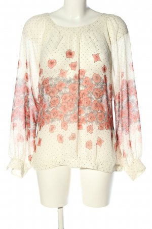 Pepe Jeans Langarm-Bluse Blumenmuster Business-Look