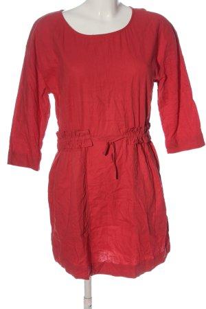 Pepe Jeans Robe à manches longues rouge style décontracté